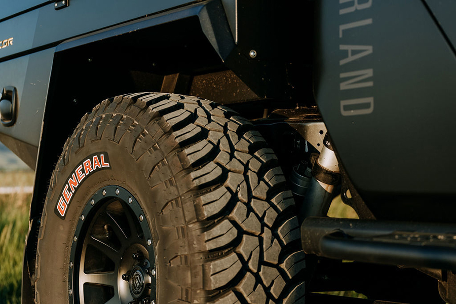 Jeep Gladiator Overland wheel