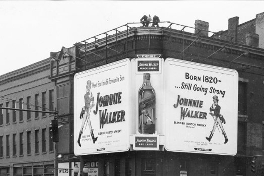 Johnnie Walker Man Who Walked Around the World