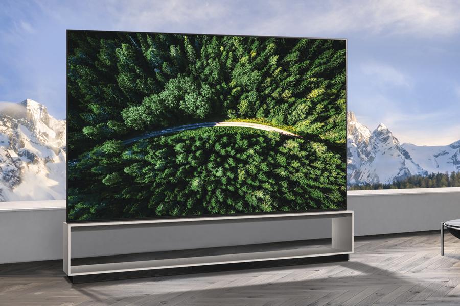 LG SIGNATURE ZX 8K OLED TV
