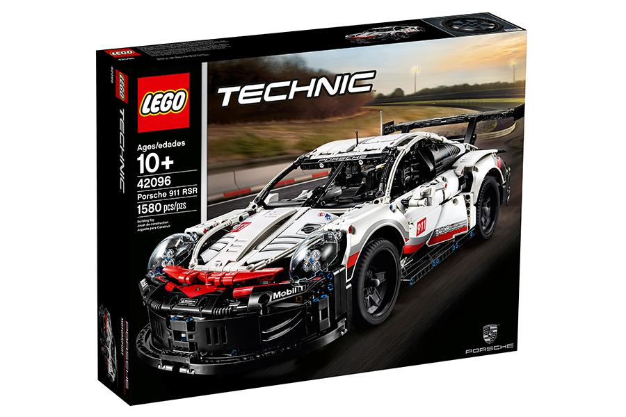 Lego Porsche 911 RSR box