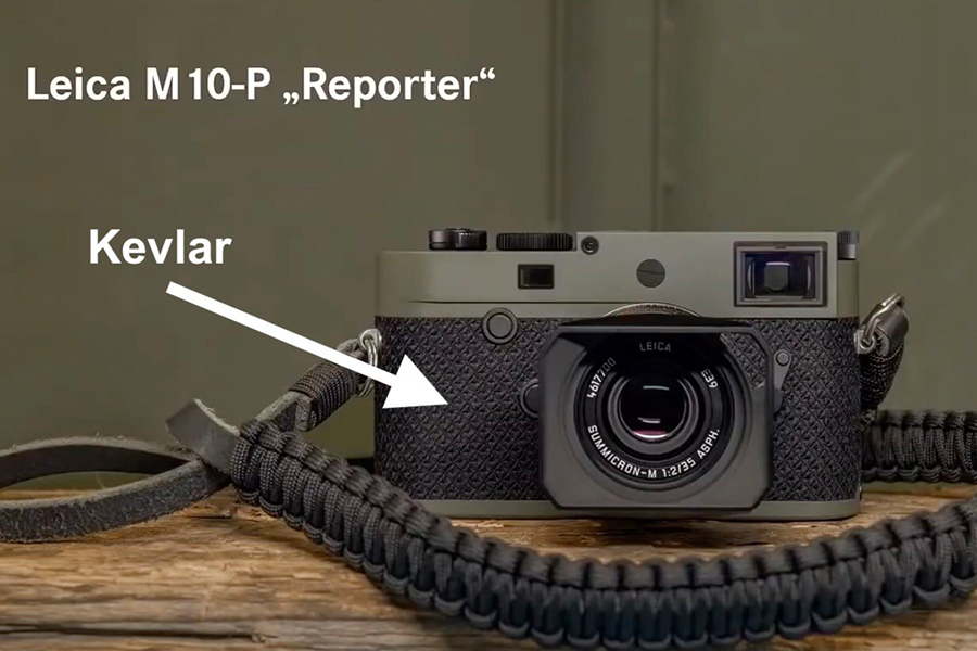 Leica M10 P Reporter with strap