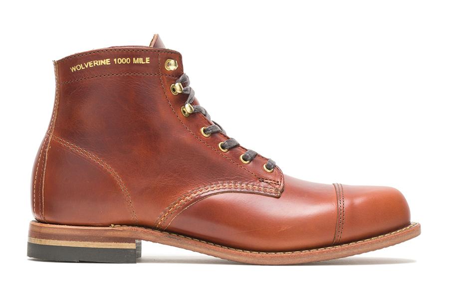 Men's Old Rip X 1000 Mile Cap Toe Boot