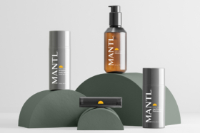 MANTL skincare products