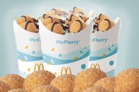 McDpnalds Donut Ball mcFlurry