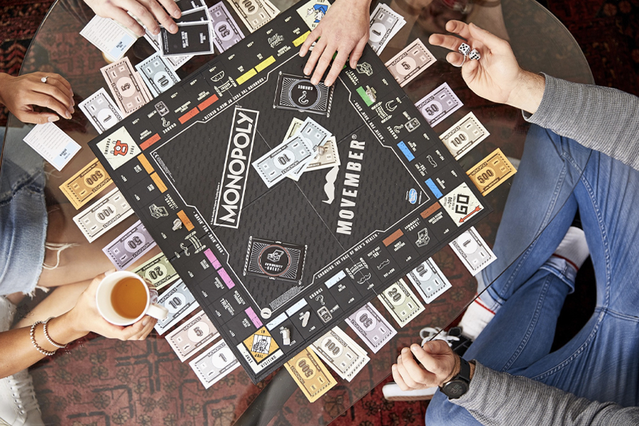 Movember's MONOPOLY Street Art Edition Gets Reimagined Again | Man of Many