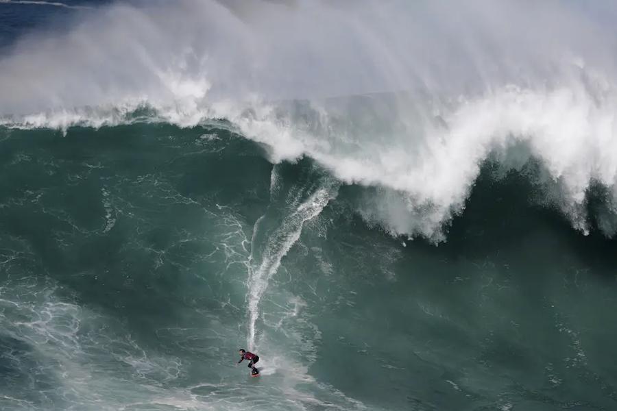 Nazare Surfing Ban