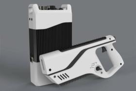 PALADYNE E1000MP DRONE-JAMMING PISTOL white