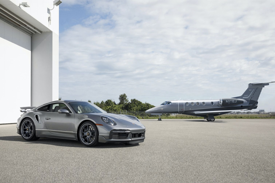 You Can Now Buy a Porsche 911 Turbo S to Match Your Private Jet | Man of Many