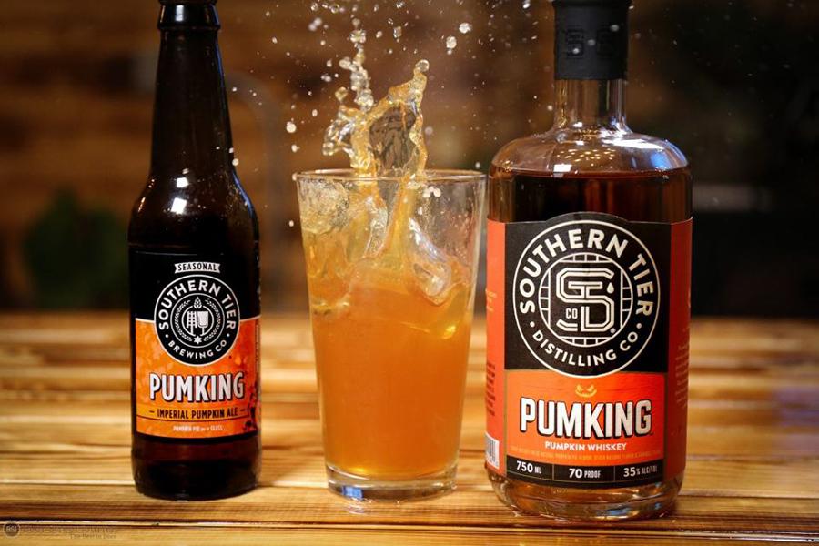 Pumking Whiskey glass