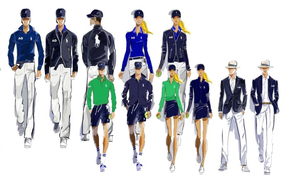 Ральф Лорен назначен официальным экипировщиком Открытого чемпионата Австралии по теннису |  Человек многих