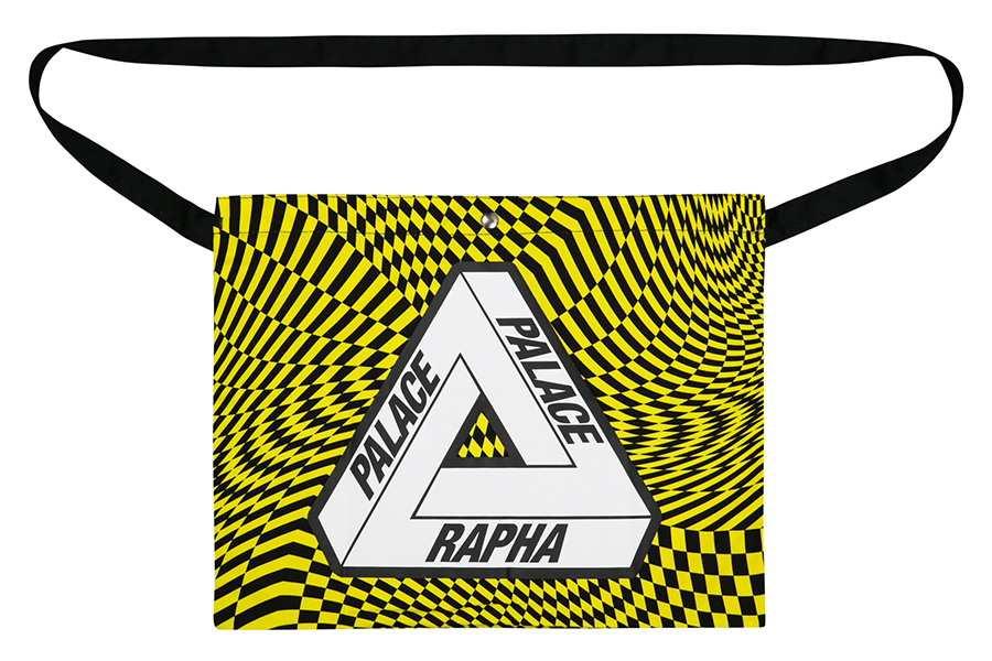 Rapha x Palace Skateboarding Collab belt bag