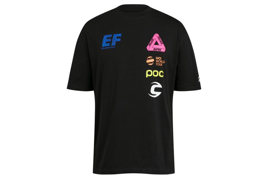 Rapha x Palace Skateboarding Collab t-shirt