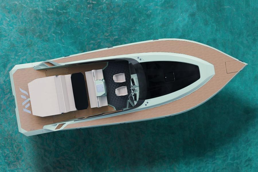 Say 42 Superyacht top