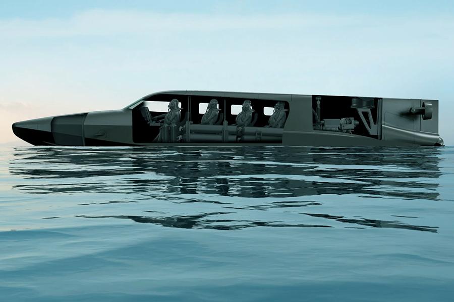 Subsea Victa Submarine