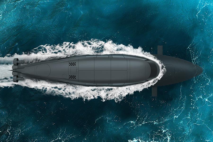 Subsea Victa Submarine top