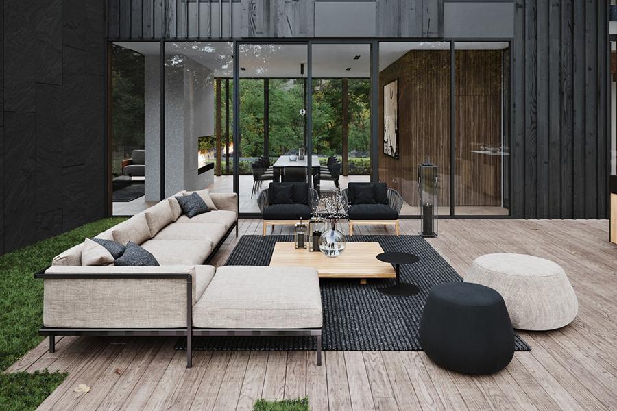 Sylvan Rock Aston Martin Designed house waiting area