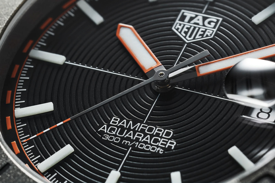 TAG Heuer Aquaracer x Bamford