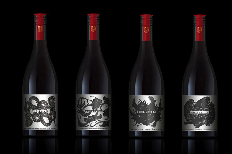 The Group Wine bottles