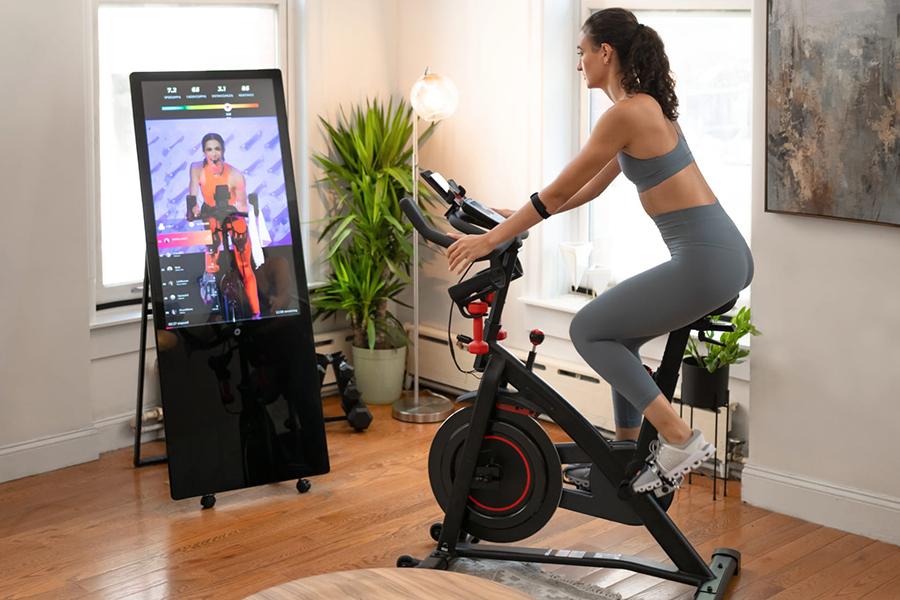 The Studio Smart Hub for Your Home Gym bicycle