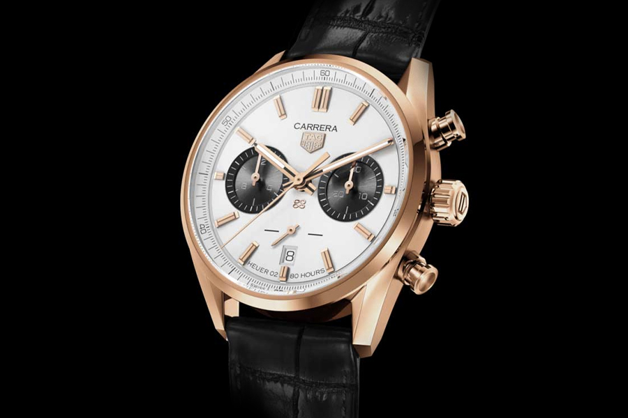 TAG Heuer Carrera Chronograph Jack Heuer Birthday Gold Limited Edition watch