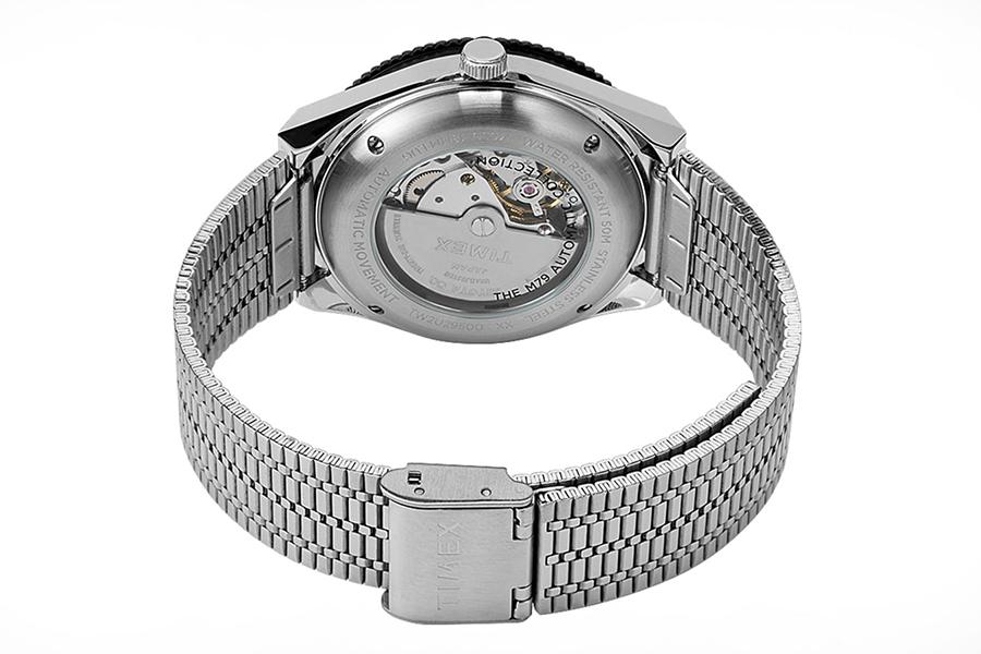 Timex M79 Black Bezel watch