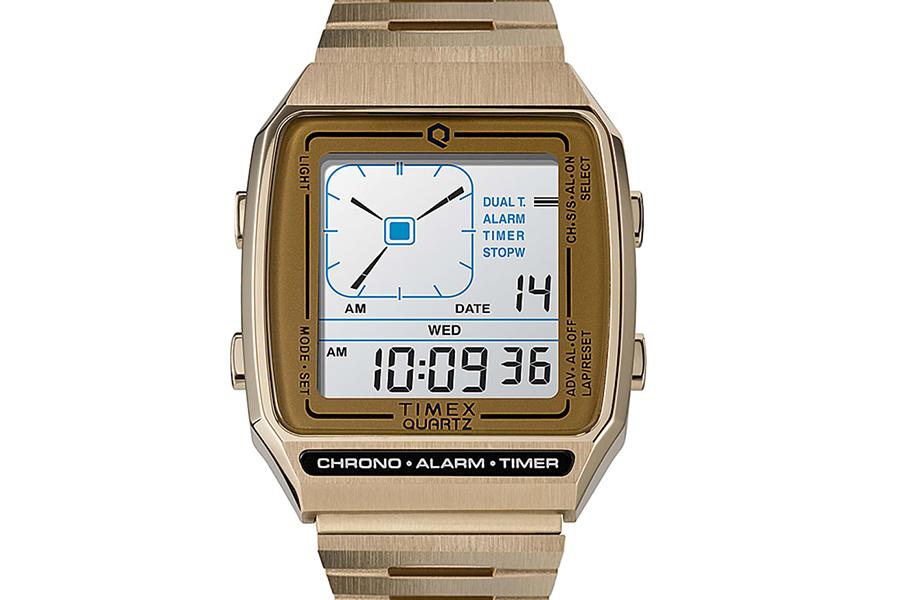 Timex Q Reissue with Digital LCA