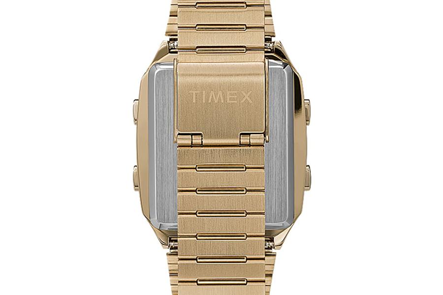 Timex Q Reissue with Digital LCA strap