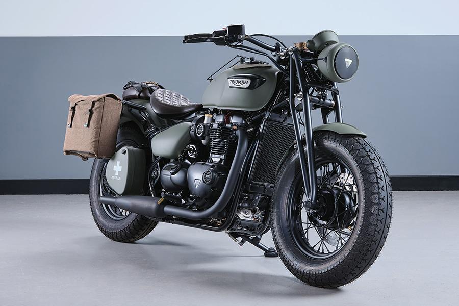 Triumph Motorcycles Bonneville Build
