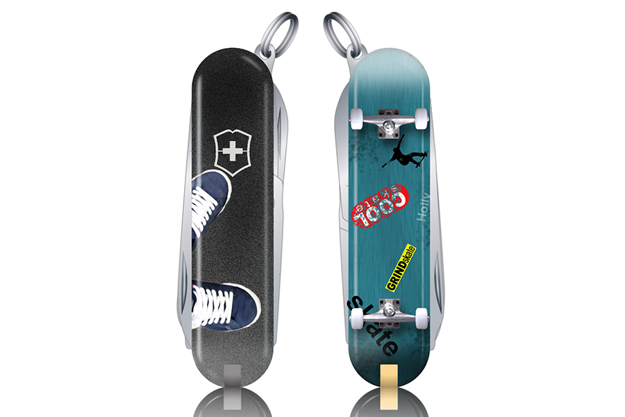 Victorinox Skateboard Multi-Tool design