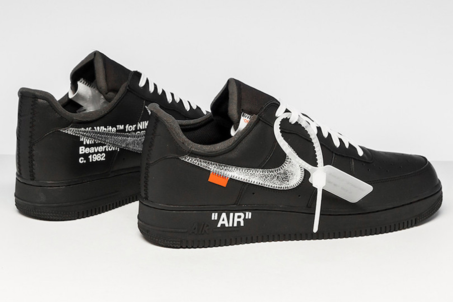 Virgil Abloh announces Off white Nike black