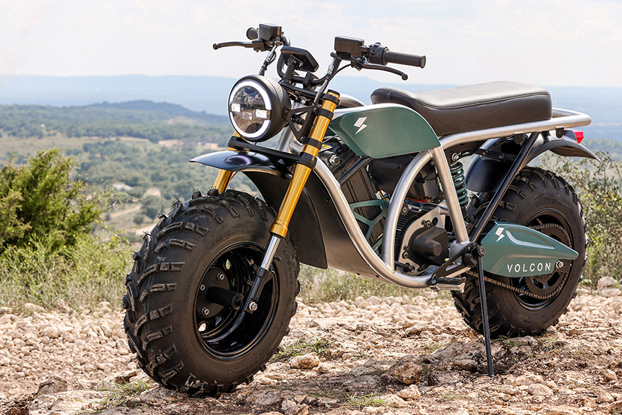 Volton Grunt Fear No Trail Electric Bike front side