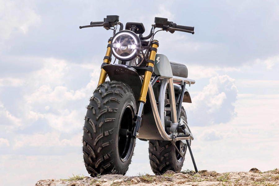 Volton Grunt Fear No Trail Electric Bike front