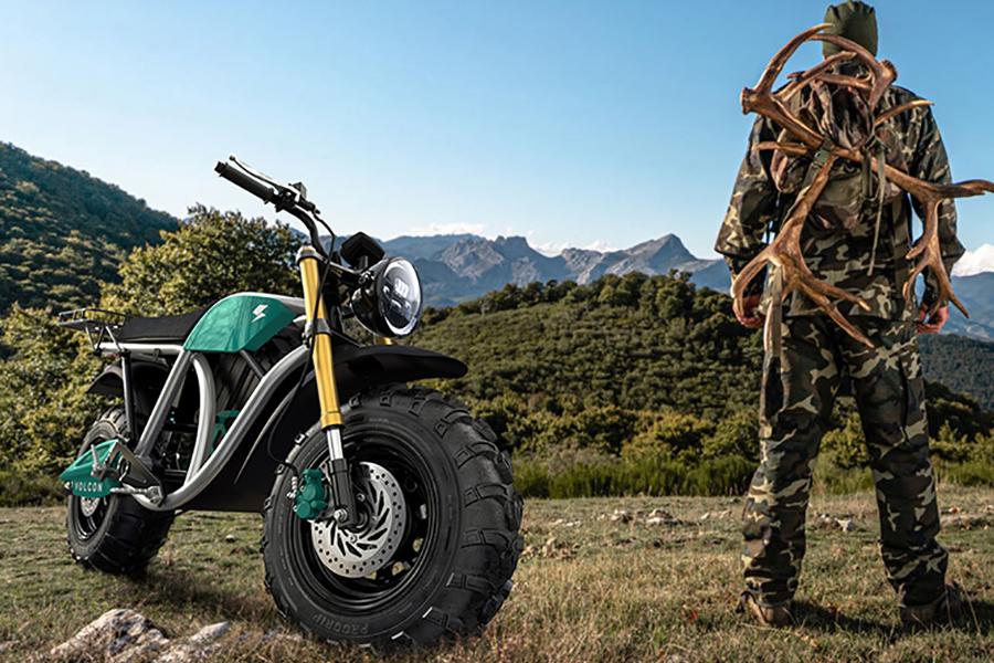 Volton Grunt Fear No Trail Electric Bike front view