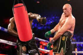 Tyson Fury vs. Punching Bag