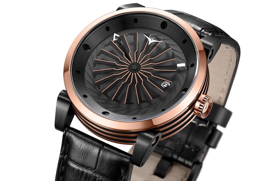 Zinvo привезли в Австралию свои смелые и уникальные часы с лезвиями   Человек многих