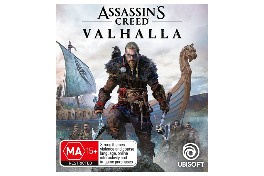 assasin's creed valhalla art