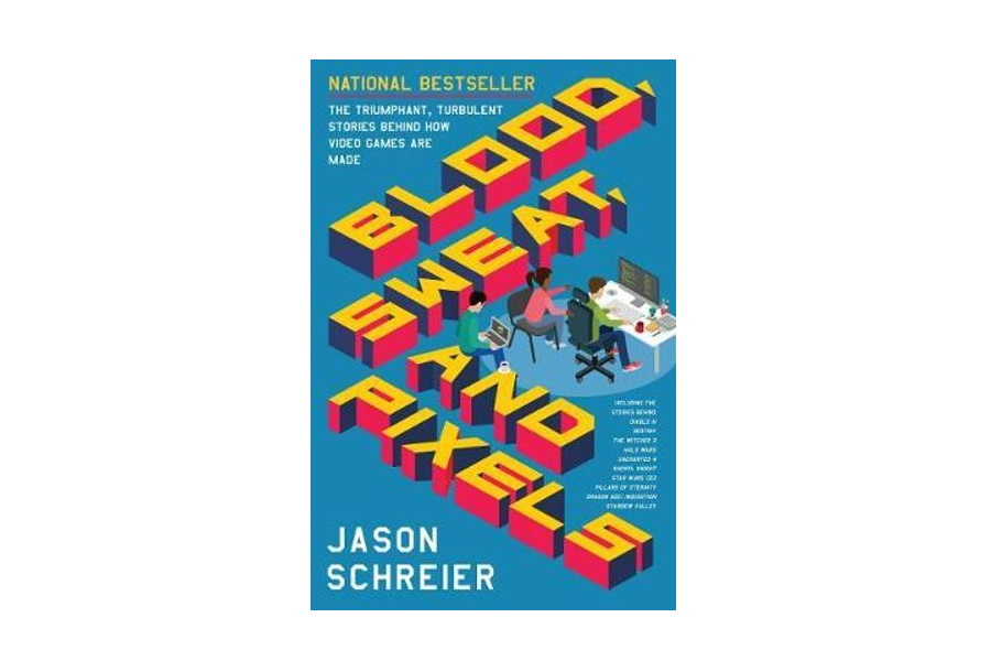 blood sweat and pixels book