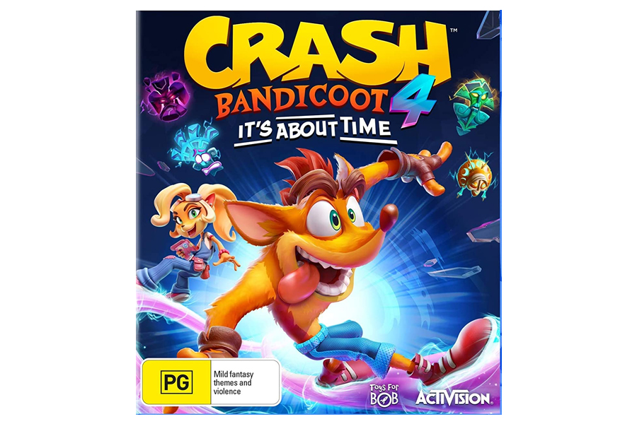 crash bandicoot for christmas