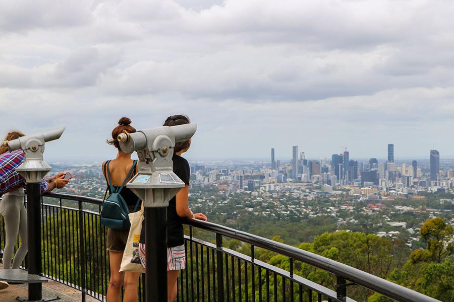 Best Walking Tracks in Brisbane Summit Track, Mt Coot-tha