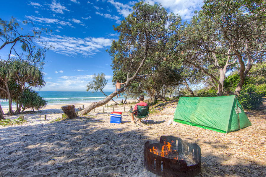 Best Camping Spots Near Brisbane Bribie Island National Park and Recreation Area