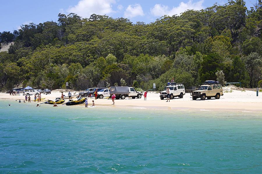 Best Camping Spots Near Brisbane Comboyuro Point camping area