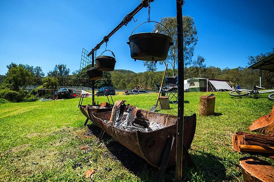 Best Camping Spots Near Brisbane Darlington & Burgess Parks Camping Grounds