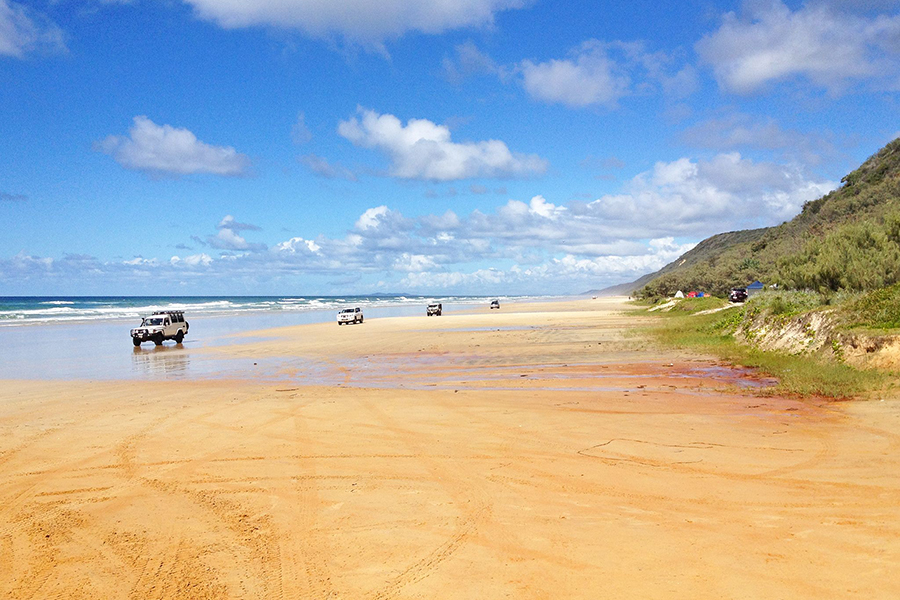 Best Camping Spots Near Brisbane Great Sandy National Park