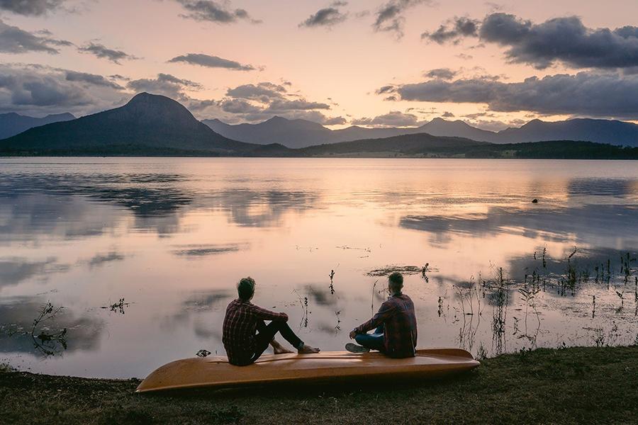 Best Camping Spots Near Brisbane Lake Moogerah Caravan Park