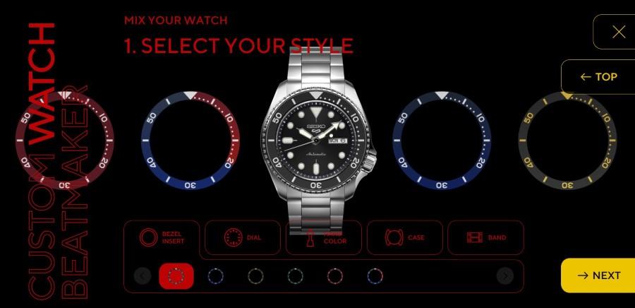Создайте индивидуальные спортивные часы Seiko 5, и они могут стать следующим выпуском ограниченной серии | Человек многих