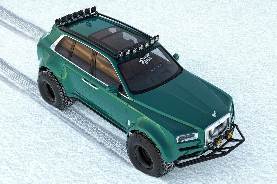 Arctic expeditions Bentley Conversion top view