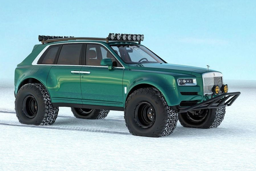 Arctic expeditions Bentley Conversion side
