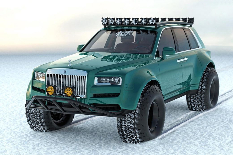 Arctic expeditions Bentley Conversion front view