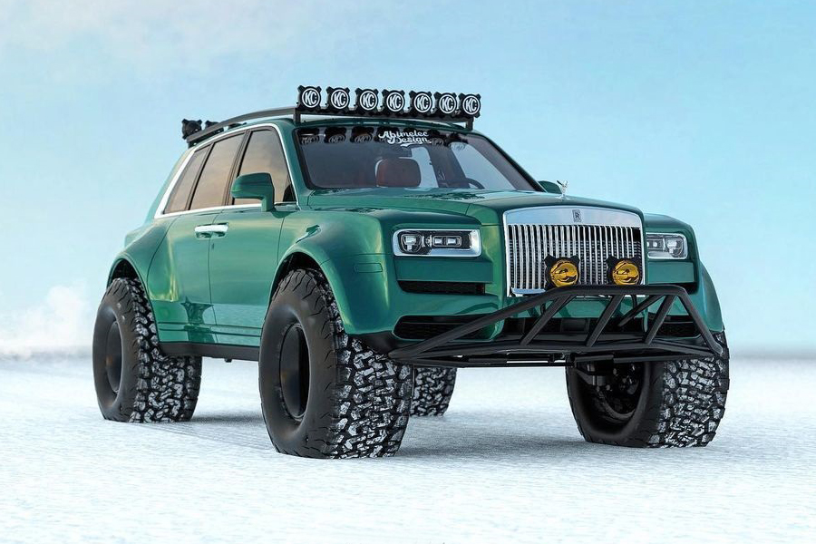 Arctic expeditions Bentley Conversion front side