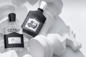 Aventus 10 year Anniversary Limited Edition perfume bottles